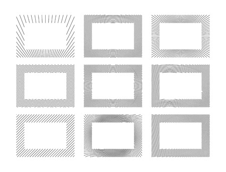 Abstract Frames Collection
