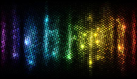 Spectrum Abstract Background Illustration