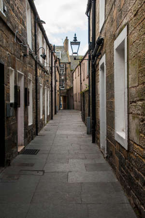 Alleyway in St Andrews Scotland