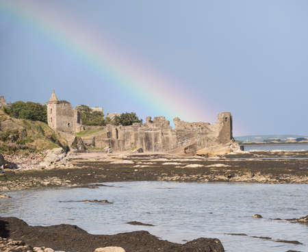 fife: St andrews castle, Fife, Scotland