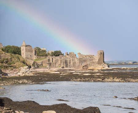 andrews: St andrews castle, Fife, Scotland