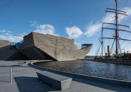 Dundee, Scotland 29th November 2017 V&A Museum of Design, Dundee in Scotland