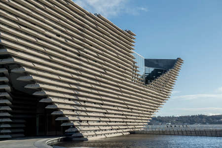Dundee, Scotland 16th April 2018 V&A Museum of Design, Dundee in Scotland Editorial