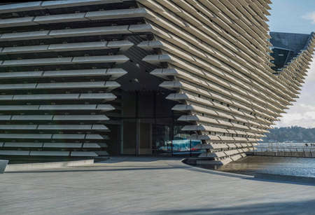 Dundee, Scotland 16th April 2018 V&A Museum of Design, Dundee in Scotland Stock Photo