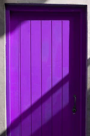 purpule: purpule door and shadow