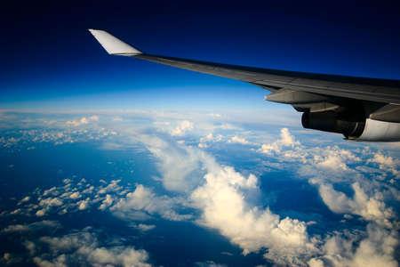air crew: airplane view
