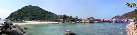 thani: Koh Nang Yuan, Surat Thani Province, Thailand Stock Photo
