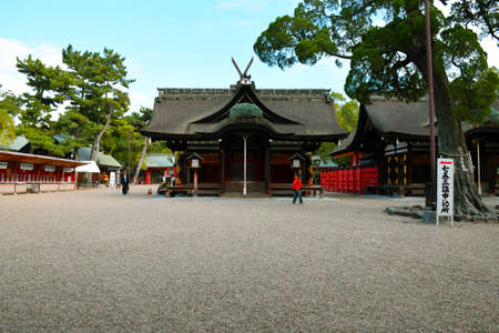 prefecture: Sumiyoshi Taisha Shrine, Osaka, Japan Editorial