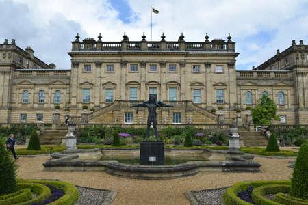 Harewood House, Leeds, West Yorkshire, UK