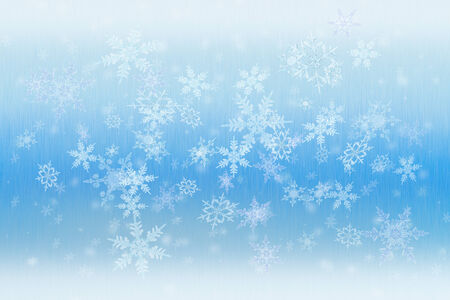 Detailed snowfall background with intricate diffuse snowflakes.