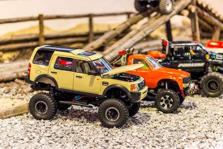 toy car bigfoot  Stock Photo