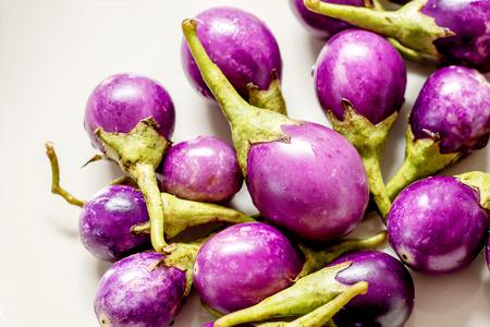 Aubergine purple color background Reklamní fotografie