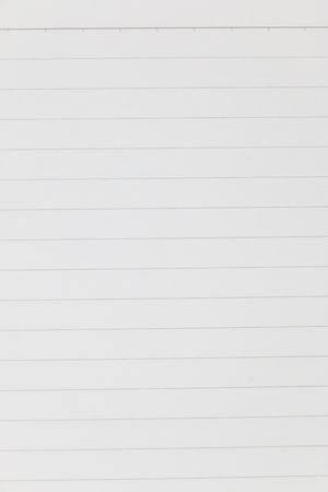 White paper with black stripes writing pad