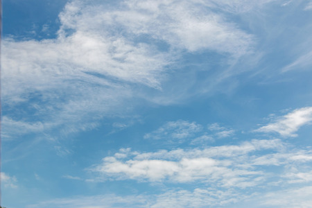 Blue sky with cloudy in Thailand Reklamní fotografie
