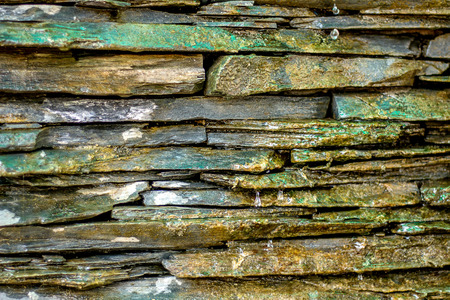 Rock waterfall model texture background