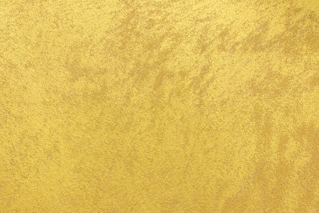 Gold color painted on wood texture background