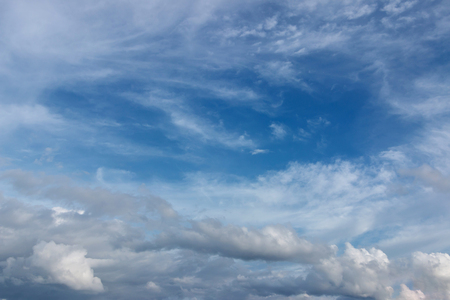 Blue sky with cloudy in Thailand background