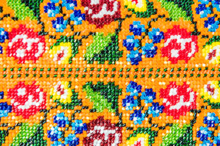jewlery: Closeup of Beaded Jewlery Ornament