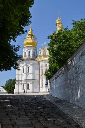 lavra: Kiev, Ukraine - June 6, 2013: Pechersk Lavra orthodox monastery