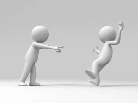 problemas familiares: Un hombre acusado de otra persona