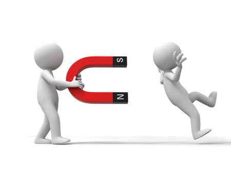 magnetismo: Due uomini e un magnete