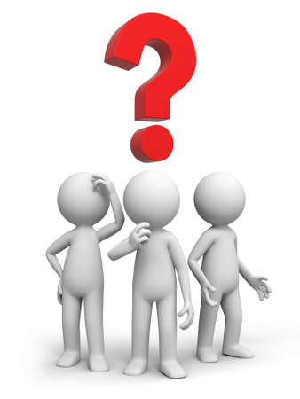 query: Drie mensen denken over