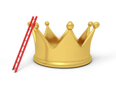 A big crown with a ladder photo