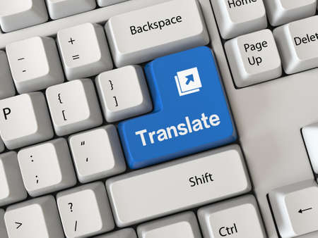 multilingual: Keyboard with a word translate