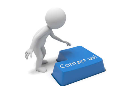 contact us: Keyboard with a contact us