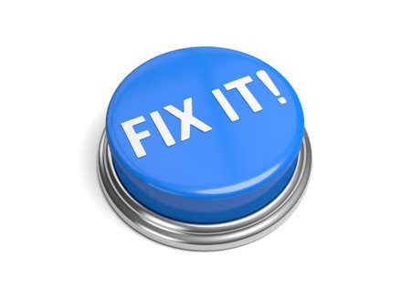 Een blauwe knop met het woord plaats deze op het Stockfoto