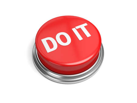 A red button with the word do it on it photo