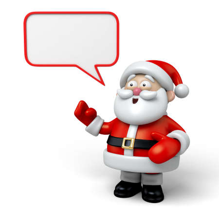 message board: The Santa Claus and a message board