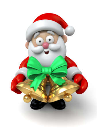 jingle bell: The Santa Claus and jingle bell