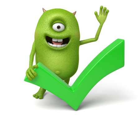 authorize: The little monster is very glad to pass the bill