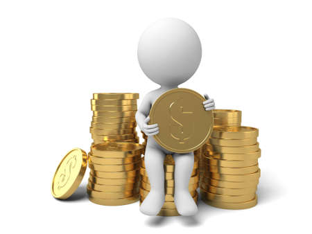 salary man: The 3D guy and a lot of money