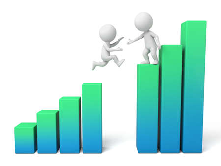 The 3D guy and a growth rate chart