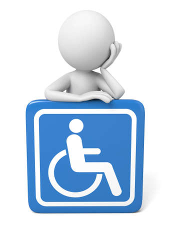 disable: 3D guy and disable sign