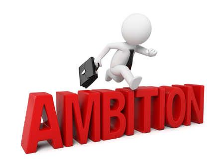 ambition: The 3D guy got over the ambition