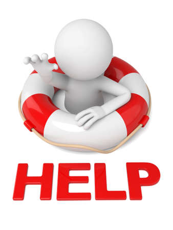 3D guy looking for help Zdjęcie Seryjne