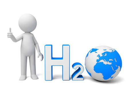 h20: The 3D guy and a fresh water model H20