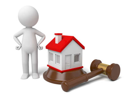 foreclosure: The 3D guys going to put a house in an auction