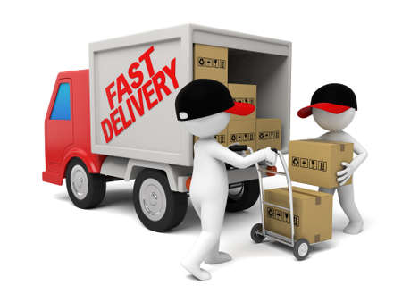 courier: The 3D guy is a courier