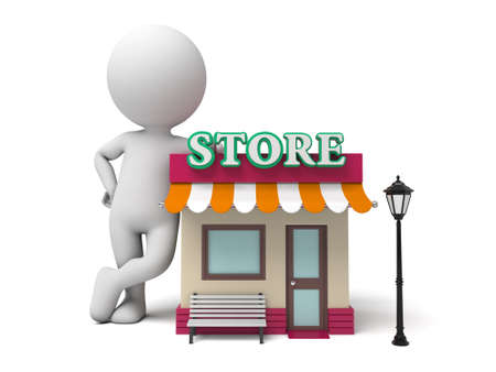 store: The 3d guy and his store