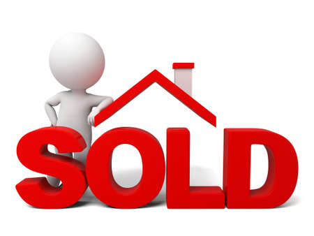 selling: The 3d guy is selling the house