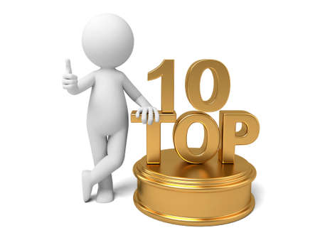 3d guy: The 3D guy and the top 10