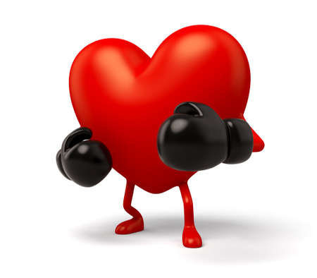 enthusiasm: The 3d heart is a boxer