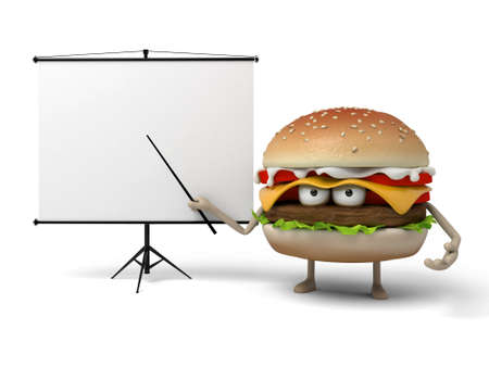 was: The 3d hamburger was lecturing