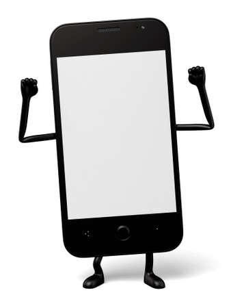 3d: 3d smartphone posture
