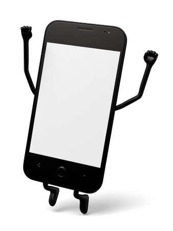 oneself: 3d smartphone jumping