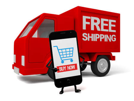 hp: A smartphone and a free shipping car
